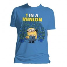 Camiseta minions 1 in a...