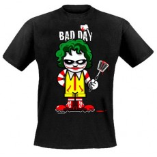 Camiseta bad day killer joke m