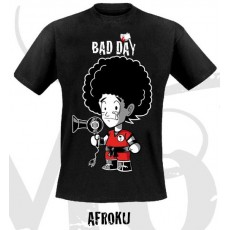Camiseta bad day afroku l