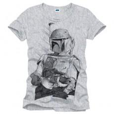 Camiseta star wars boba...