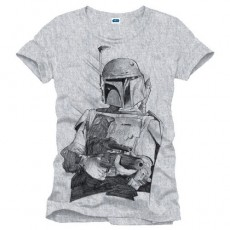 Camiseta star wars boba...