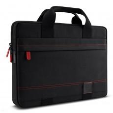 Funda 13.3 macbook negro rojo