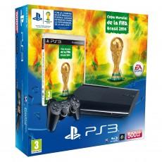 Consola ps3 500gb + fifa...