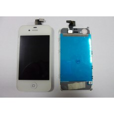 Repuesto pantalla lcd+touch completa apple iphone 4g blanco