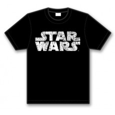 Camiseta star wars logo...