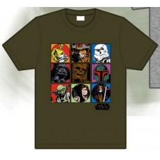 Camiseta star wars viÑeta...