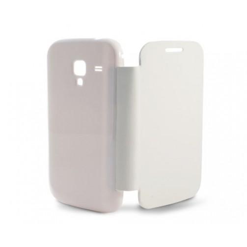 ec66882bbff Kiwiku.com: Ksix B8478FU80B - Funda folio con carcasa trasera para Samsung  Galaxy Ace II, blanco - Electrónica