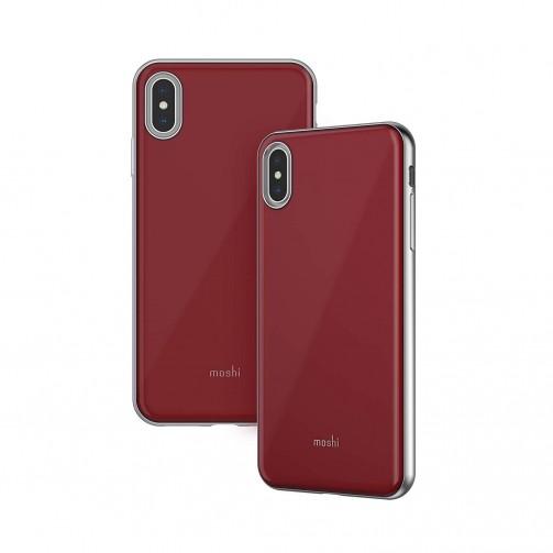 f7684e3cd14 Funda exclusiva Moshi, fina y rígida iGlaze - Color rojo. - Compatible con  iphone XS MAX.
