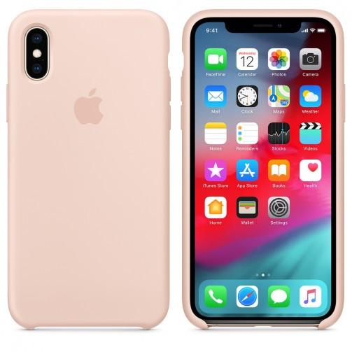 52c2791b871 Esta funda de silicona, diseñada especialmente por Apple para el iPhone XS,  se adapta perfectamente a los botones de volumen, el botón lateral y las  curvas ...