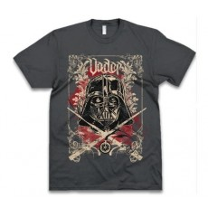 Camiseta star wars swords...