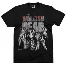 Camiseta walking dead logo...