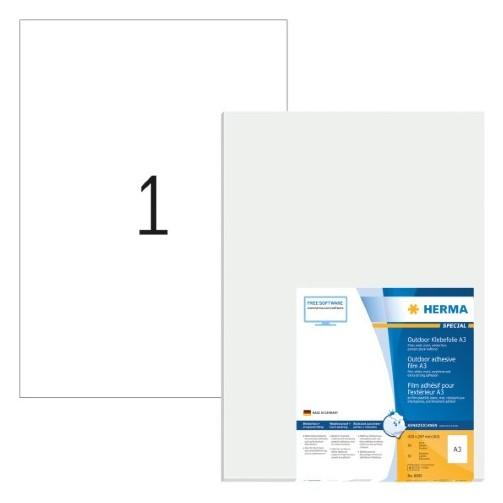 """precios increibles diseño distintivo 100% autentico Comprar Etiquetas plásticas """"Outdoor"""" resistentes a la intemperie - A3 -  297x420 mm - Color blanco - Adhesi 8695 kiwiku.com"""