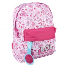Mochila casual - Color rosa...