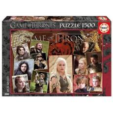 Puzle 1500 juego de tronos...