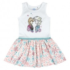 Vestido frozen, Color Rosa