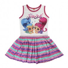 Vestido shimmer and shine
