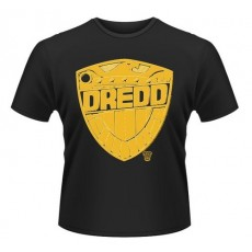 Camiseta juez dredd: chapa...