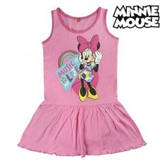 Vestido minnie, Color Rosa...