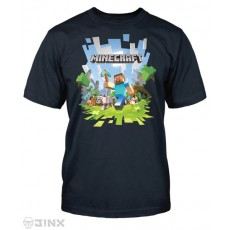 Camiseta minecraft steve xl