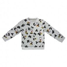 Sudadera mickey, Color Gris