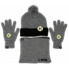 Set gorro +guantes +braga...