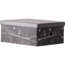 Caja cartón rectangular...