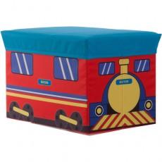 Baúl taburete tren