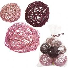 Bola decorativa, rosa