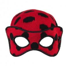 Gorro máscara lady bug,...