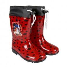 Botas lluvia pvc lady bug,...