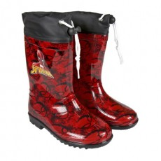 Botas lluvia pvc spiderman,...