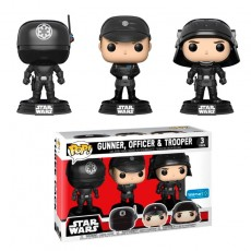 Set 3 figuras pop! star...