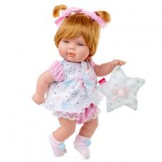 Muñeca baby smile vestido rosa