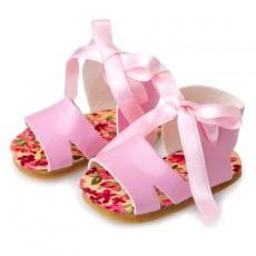 Zapatos berjuan sandalia rosa