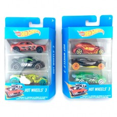 Blister 3 coches Hot Wheels...