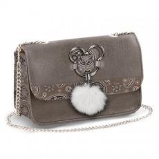 Bolso satchel cadena mickey...