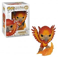 Figura pop harry potter fawkes