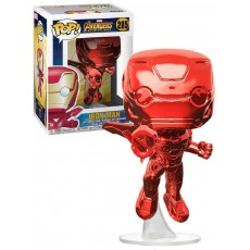 Figura pop marvel: iron man...