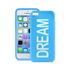 Funda silicona dream azul...