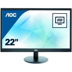 "Monitor Led 22"" Aoc..."