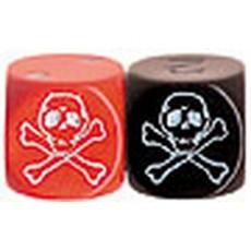 Bolsa 6 dados puntos pirata...