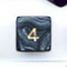 Bolsa 50 dados 6 caras perla