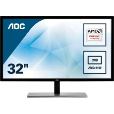 "Monitor AOC 31.5"" Quad HD..."