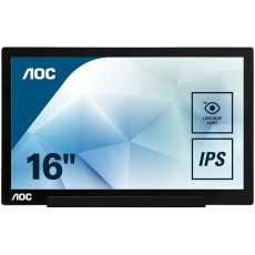 "Monitor AOC 17"" IPS FullHD..."