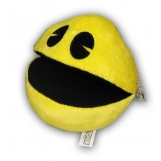 Peluche pac man amarillo 15cm