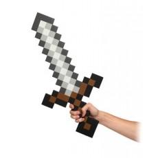 Minecraft espada foam 65 cms