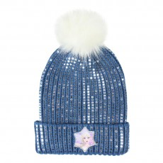 Gorro frozen 2, Color Azul...