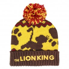 Gorro pompon lion king,...