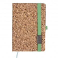 Cuaderno de notas corcho...