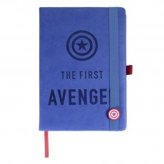 Cuaderno de notas avengers...